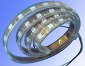 LEDCLWHT5M - LED STRIP COOL WHITE LIGHTS 5cm strips 3 LEDs -  solar panels  connectors