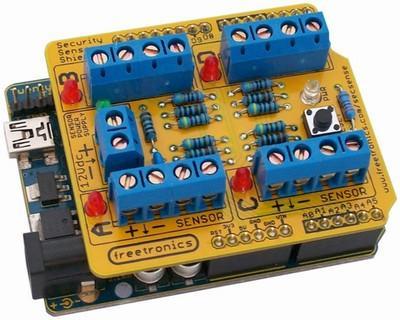 MCB4218 - Security Sensor Shield Kit for Arduino