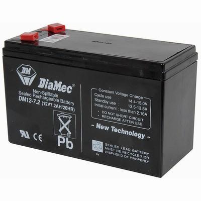 SB2486 - 7.2 Amp Hour 12V Sealed Lead Acid Battery