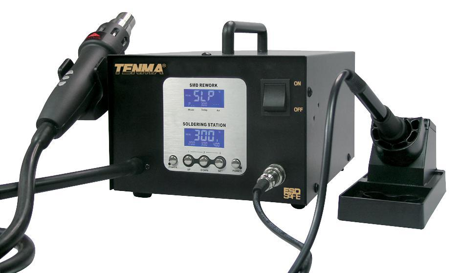 HT10130 - SMD REWORK  AND SOLDERING STATION STATION
